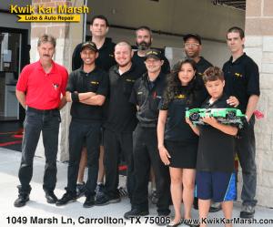 kwik-kar-marsh-team