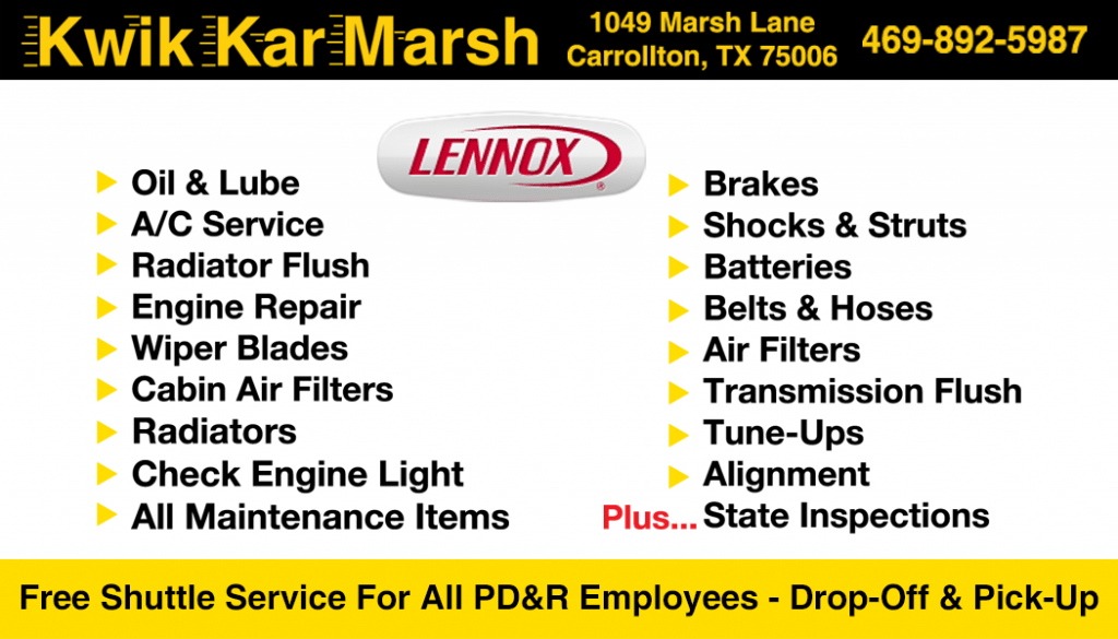 kwik-kar-marsh-corporate-services