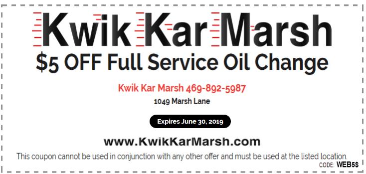 kwik-kar-coupons-carrollton-may-2019