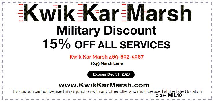 military-discount-15-percent-off-kwik-kar-marsh