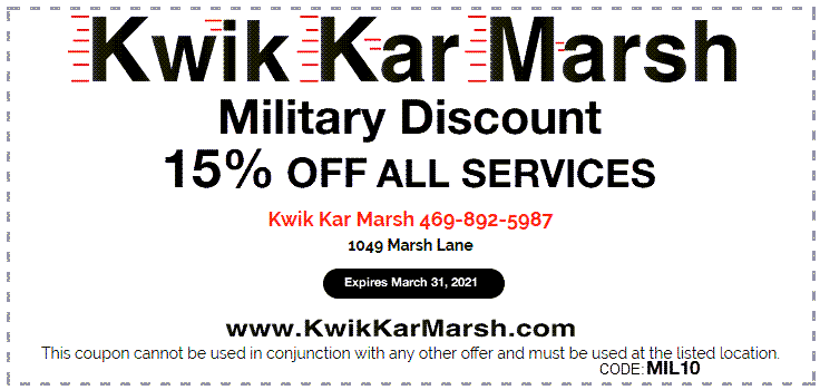 military-discount-15-percent-kwik-kar-marsh-2021