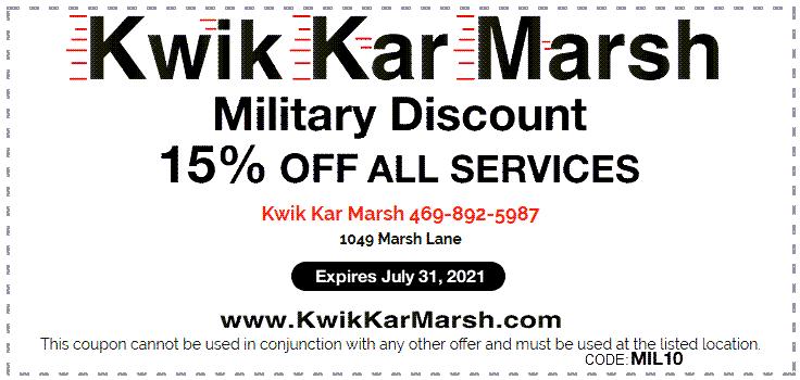 military-discount-15-percent-kwik-kar-july-2021